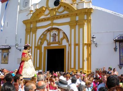 La Venida de la Virgen de Escardiel. Año 2007