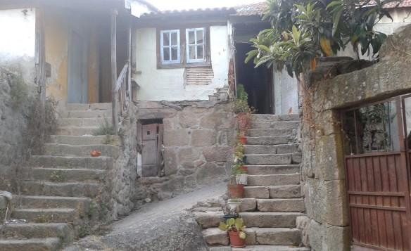 Peculiaridades del caserío del casco antiguo de Viseu / Juan Carlos Romero
