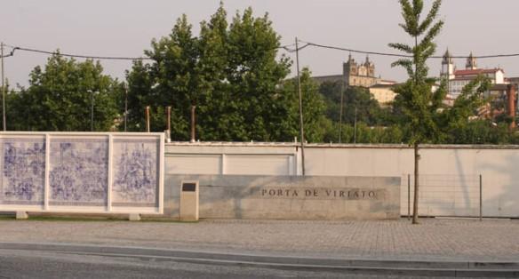 La ciudad de Viseu homenajea en su callejero a Viriato, líder luso y celtíbero frente a la dominación del imperio romano / Juan Carlos Romero